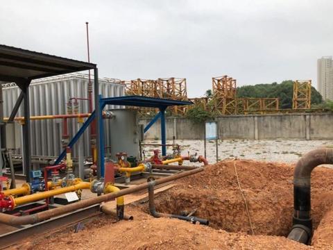 阳新新闻:阳新县华川天然气有限公司高压管网迁改顺利完成