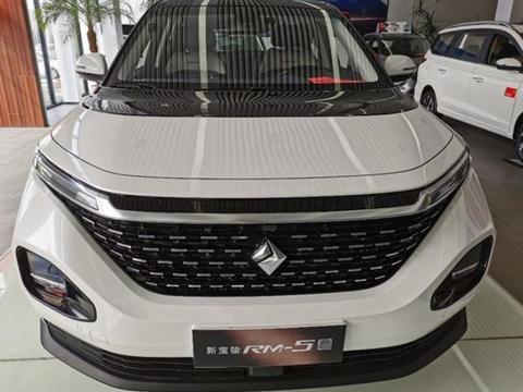 上市首月卖了8千多,宝骏RM5竞争嘉际、宋MAX,8万多起售火了