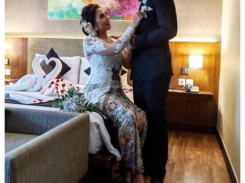 44岁女演员7年离婚2次,三婚嫁小自己18岁的男友称找到真爱