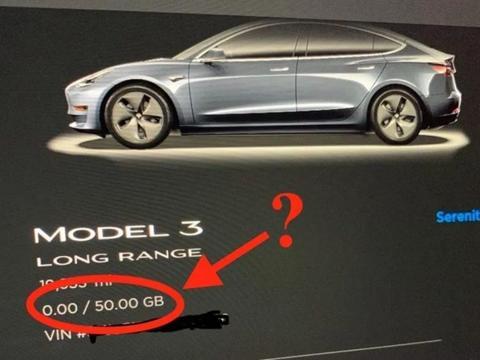 上限50GB:特斯拉要对车内数据流量收费了吗?
