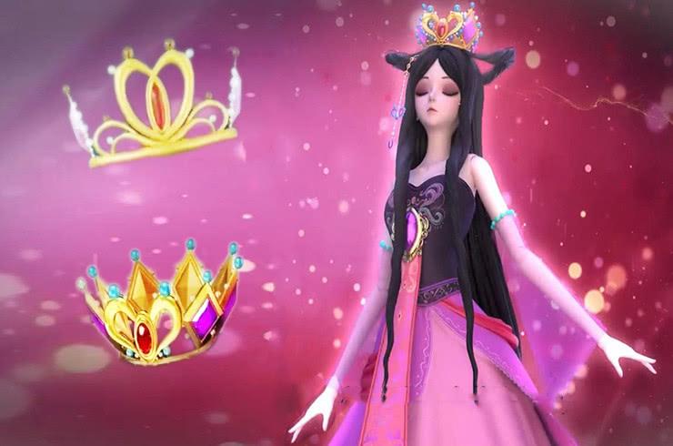 叶罗丽:公主的新头饰集齐,有皇冠都是公主,亮彩和菲灵是命不好