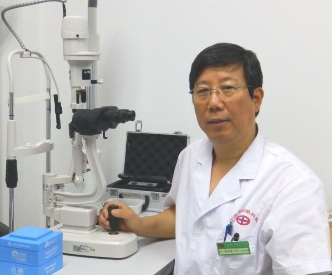 """宁波白内障手术专家周宏健""""妙手回春""""助力85岁老者"""