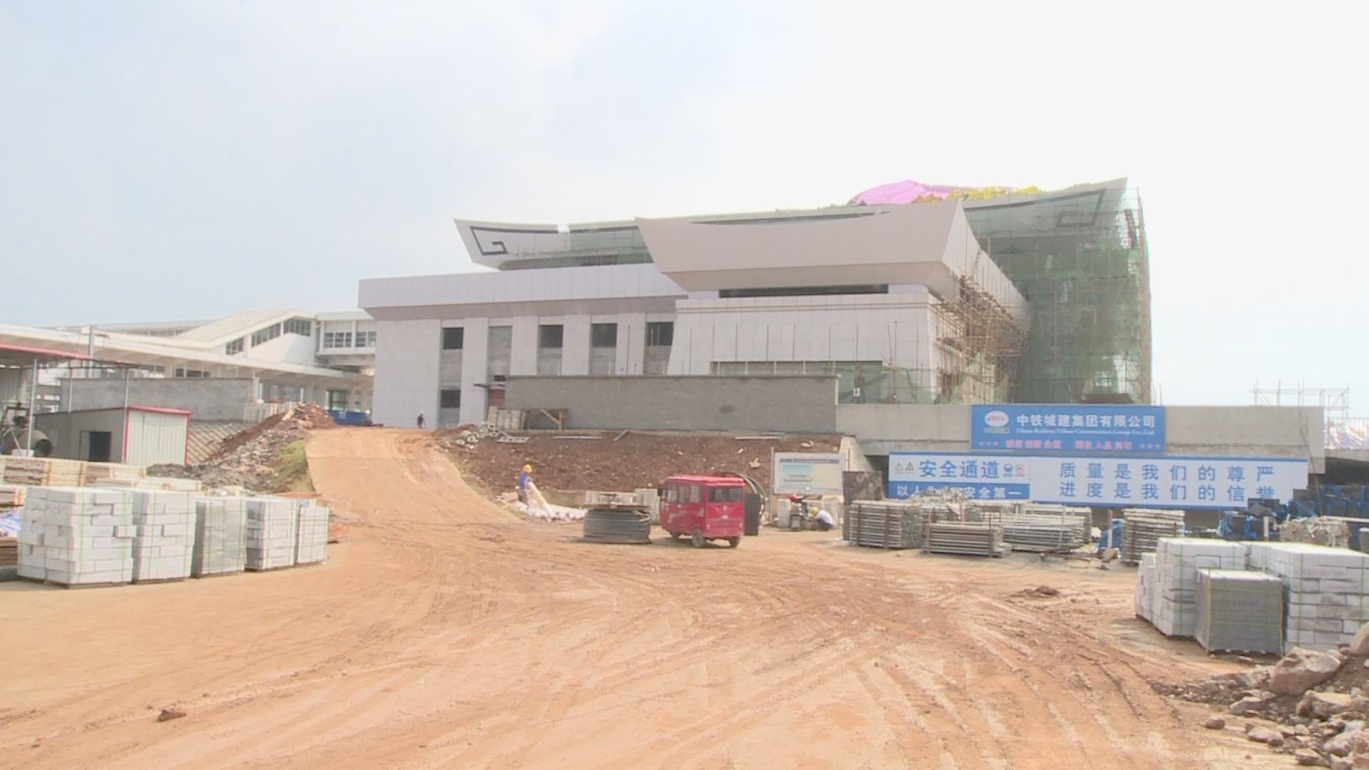 阳新新闻:阳新高铁站前广场等项目正常推进中