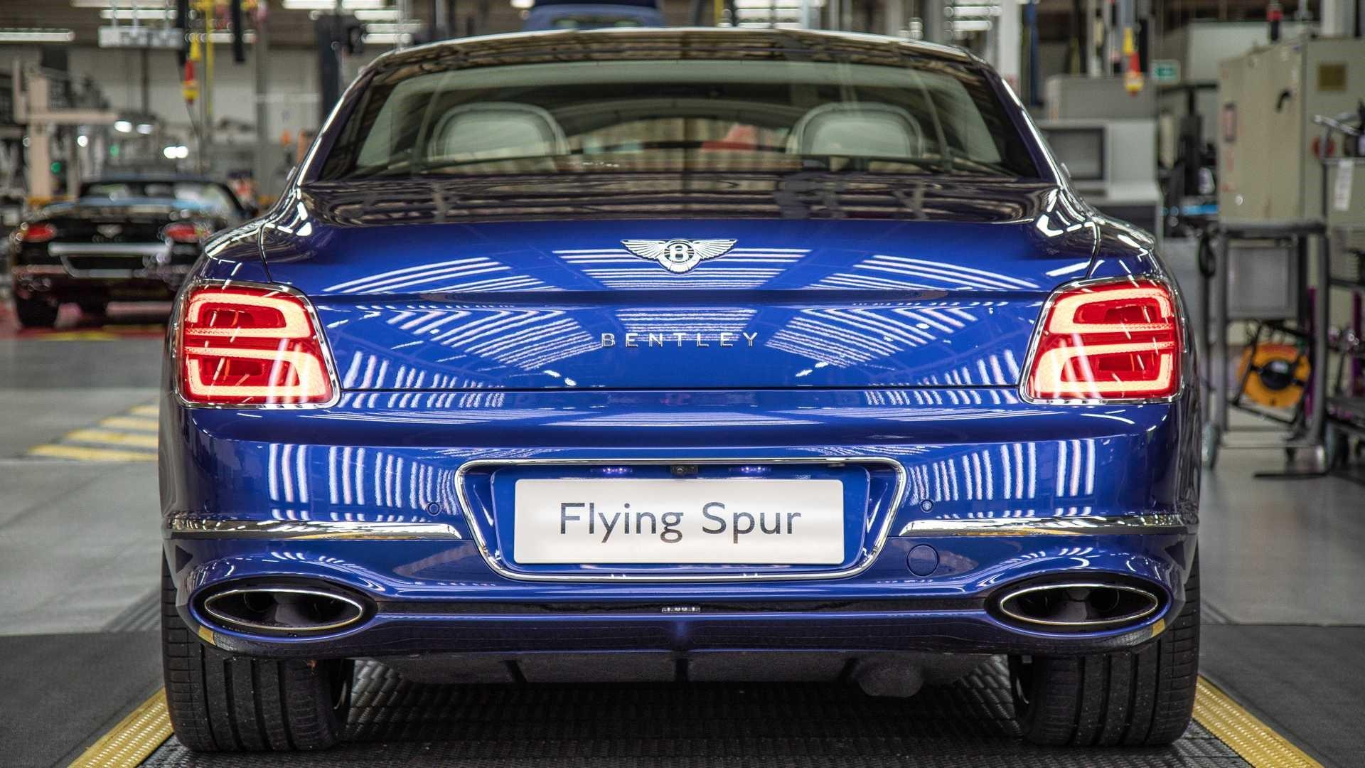 首次引入全轮转向系统全新宾利飞驰正式投入生产