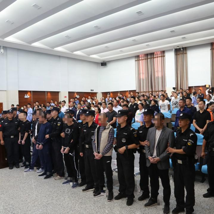 赣州多起黑恶势力被抓 最高判刑11年