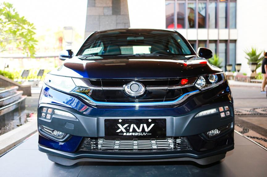 X-NV打头阵,东风本田正式开启纯电元年