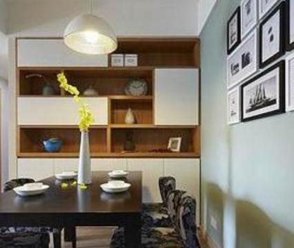 餐边柜该如何设计?4种装修方案,让餐厅实用更高大上