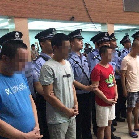 """海口甲子镇一黑社会性质组织今日公开宣判,首要分子获刑24年,""""保护伞""""获刑10年!"""