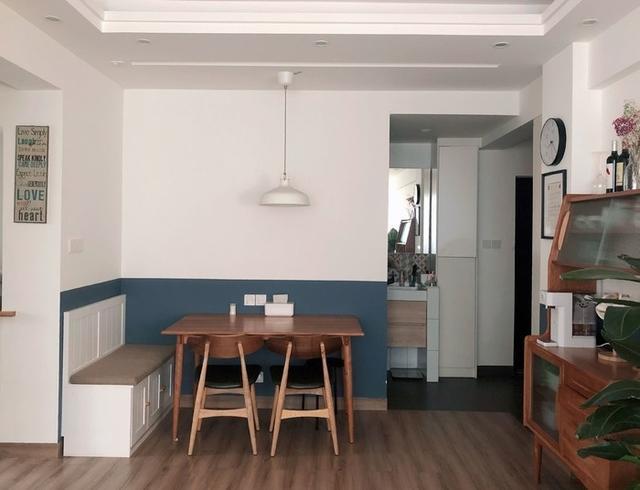 65㎡住进一家四口,不光有独立小书房,收纳设计堪称小户型典范