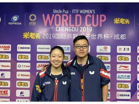 国乒奥运首金陈龙灿的侄儿,带领美国乒乓创历史最佳战绩