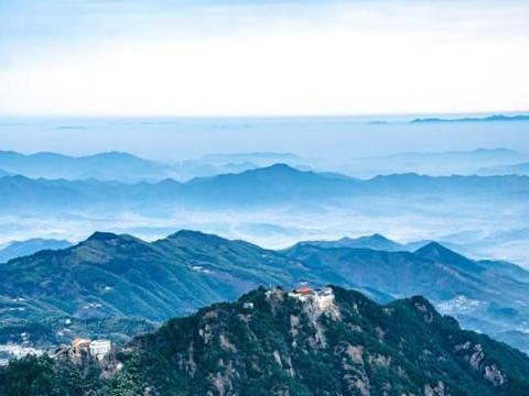 中国佛教四大名山中,只有它是世界地质公园
