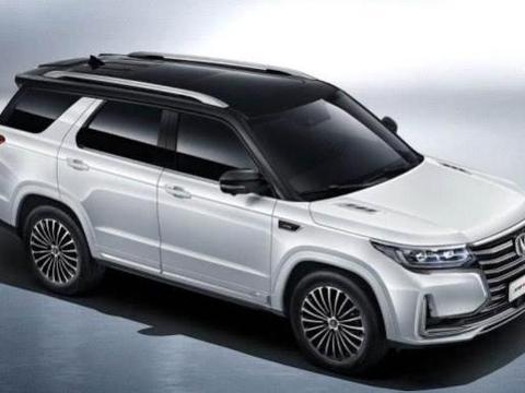 最低售价不到17万,新款长安CS95登场,霸气的国产SUV