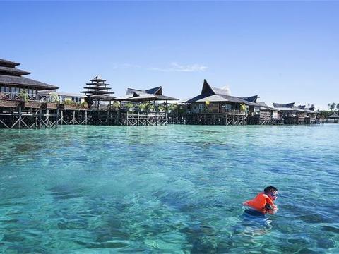 马来西亚一绝美小岛,整片屋子漂浮在大海上,如此美景却鲜有人知