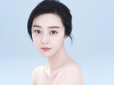 范冰冰半露香肩为自创品牌拍片,娱乐圈除张钧甯外无人响应