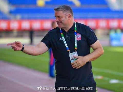 中甲新疆队官方宣布续约主帅 未来参与球队青训建设