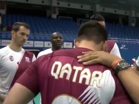 卡塔尔3-0法国赢军运会抢分战,中国男排再赢一局即可获小组头名