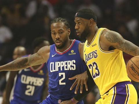 湖人和快船同城德比的背后,藏着一份NBA本赛季的全新考卷