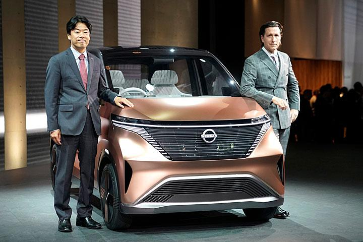 只有两款概念车,没有新车的日产,何以在东京车展造成轰动?