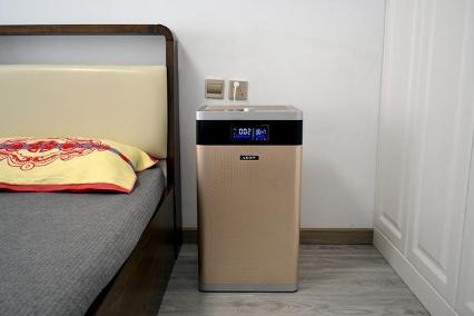 莱克空气净化器:净化智能一体机,清新空气触得见