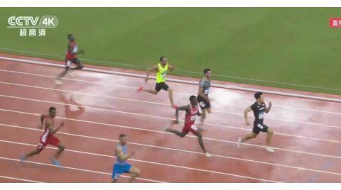 再获第一!韩国飞人金国荣军运会百米半决赛10秒26 谢震业退赛了