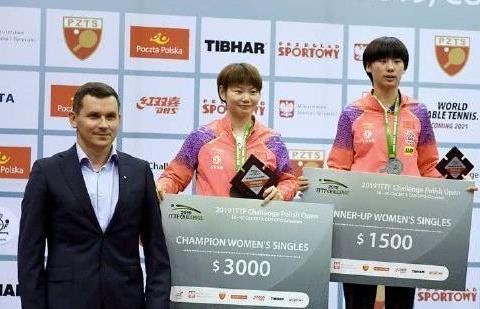 中国队豪夺4冠,日本队夺1冠,2大00后可挑战张本智和伊藤美城