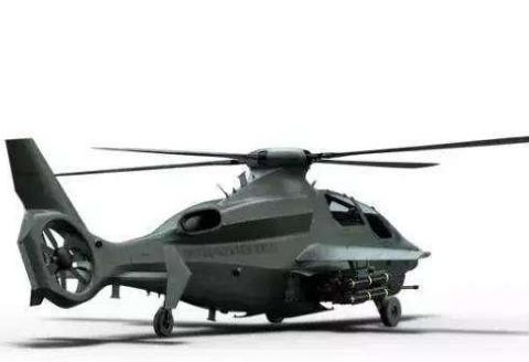 下一代武装直升机方案曝光:F-22级别的航电系统,外形十分科幻