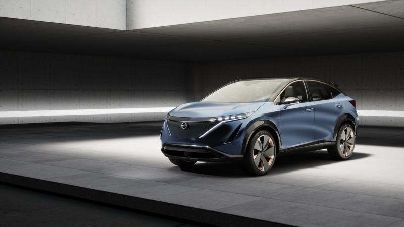 电动化依然是方向 日产两款纯电动概念车亮相东京车展