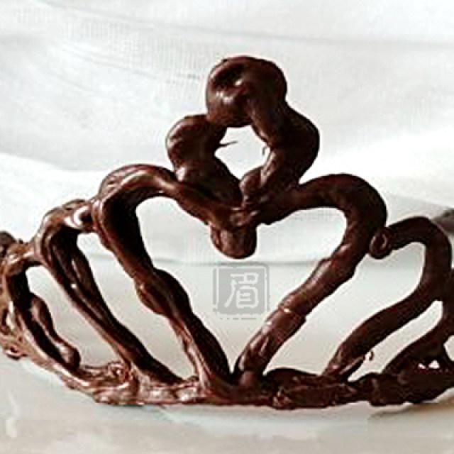 巧克力皇冠,创意十足,超详细图解,手把手教你做