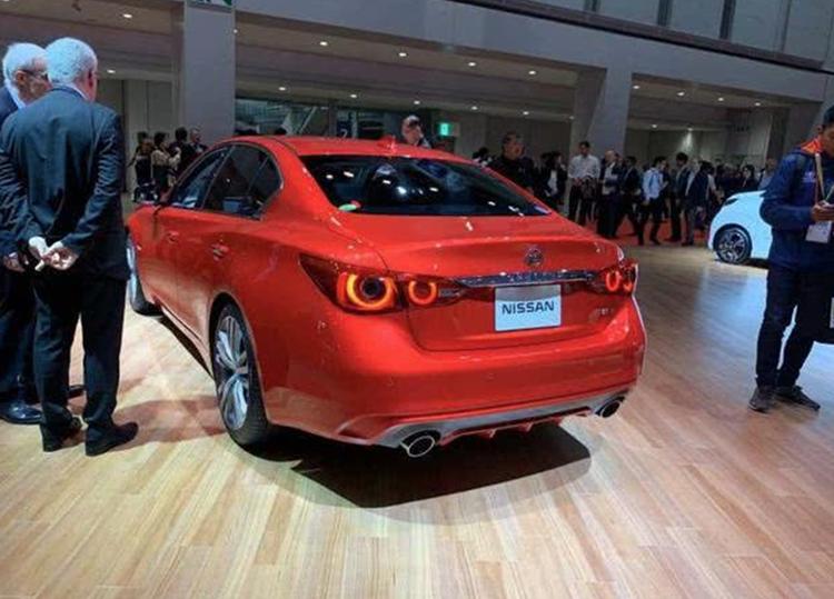 换装全新LOGO,新款日产Skyline东京车展正式亮相