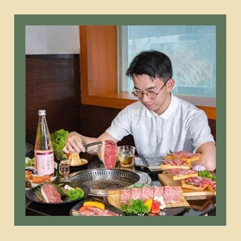 4.5星日式烤肉!半价打卡『M9级和牛拼盘』盛宴,吃肉了喂~