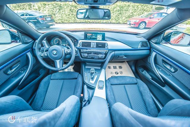 2019款进口宝马4系425i M运动套装版到店实车美拍