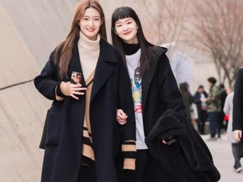 超可爱的韩国模特 被笑容治愈了