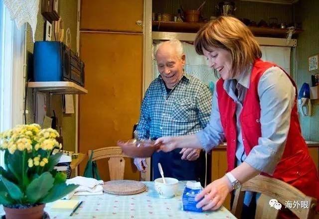 在自己的家中养老是最幸福的