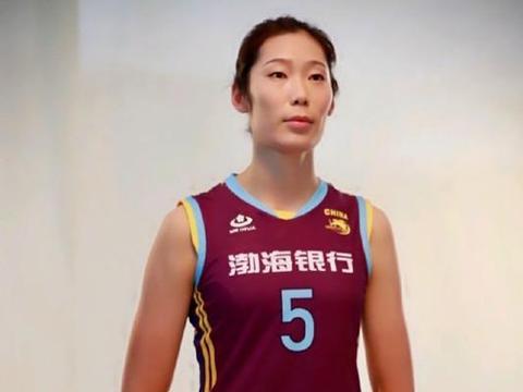 朱婷正式开练,新赛季双线作战,带领天津女排力争夺双冠