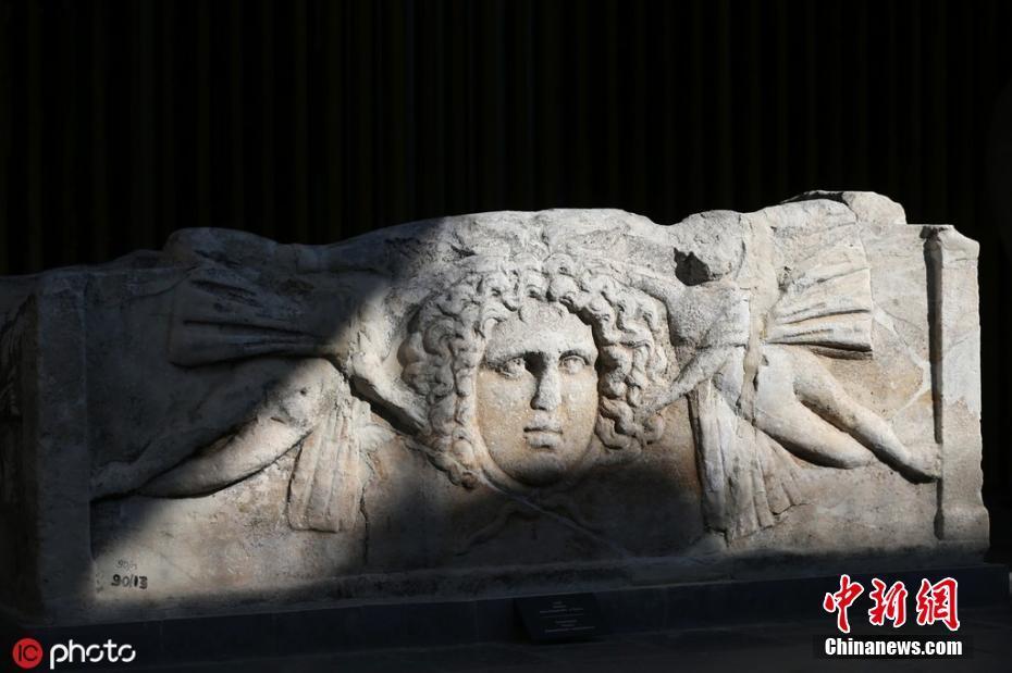 土耳其凯塞里博物馆展出众多古文物 精美石雕令人震撼土耳其凯塞里博物馆展出众多古文物 精美石雕令人震撼