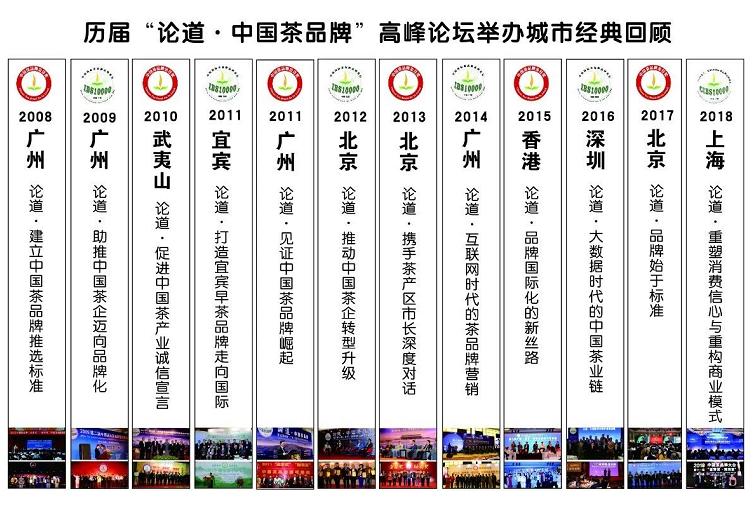 致敬标杆!2019(第十三届)中国茶品牌大会将在广州举行