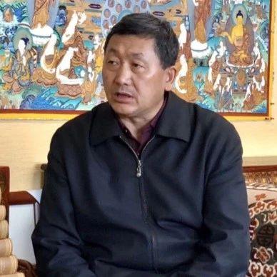 新中国成立70周年甘南广播电视台大型采访活动·相约北京·摄制组采访青海师范大学教授、副校长扎布先生