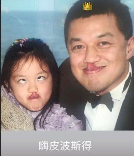 李亚鹏生日李嫣晒童年合影,王菲生日李嫣却送上画作,更爱妈妈?