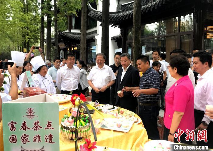 """江苏扬州以""""美食""""亮相国际舞台:不仅仅是味蕾诱惑"""