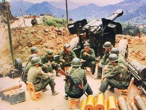 66式加榴炮和59–1式加农炮好搭档,充分教育和说服过越南人