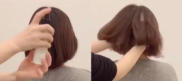 发型师亲授电棒卷发3技巧 波纹自然持久,对称不尴尬
