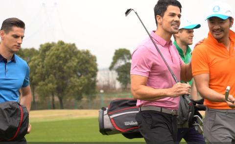 让乐动体育走进高校 乐动体育高尔夫教练把课程带进校园