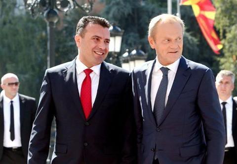 马克龙拒北马其顿入欧谈判 容克:将是历史性错误
