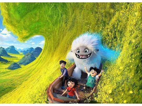 中外合拍的动画电影《雪人奇缘》,讲述了一个发生在中国的故事