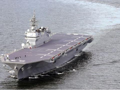 """日本F-35B上舰""""出云""""号 航母大梦意欲重圆?日本想到底想干啥"""