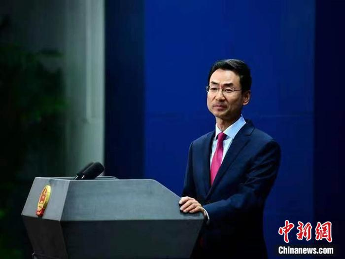 耿爽介绍中国—东盟领导人会议发