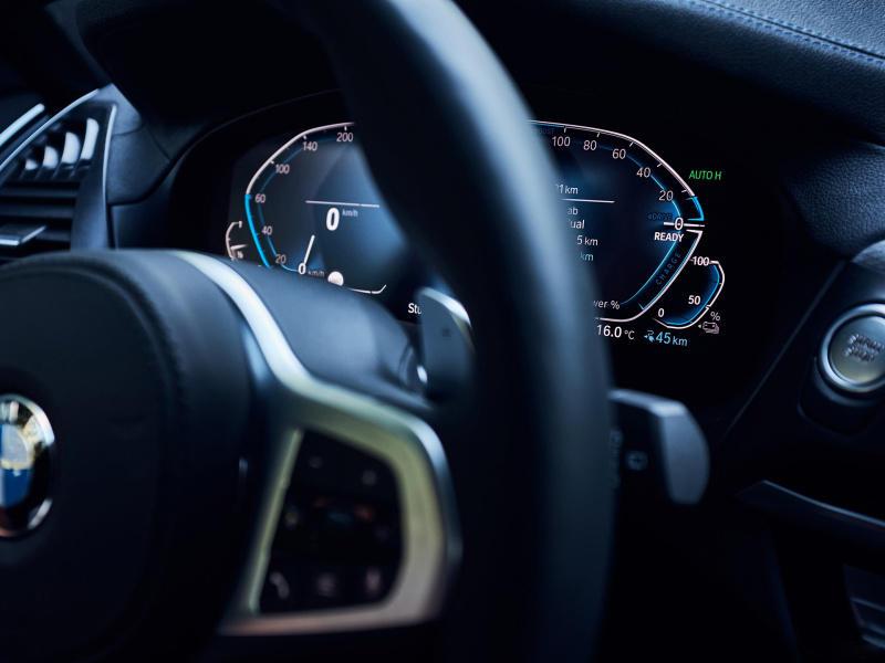 宝马X3插混官图发布 百公里加速6.1s