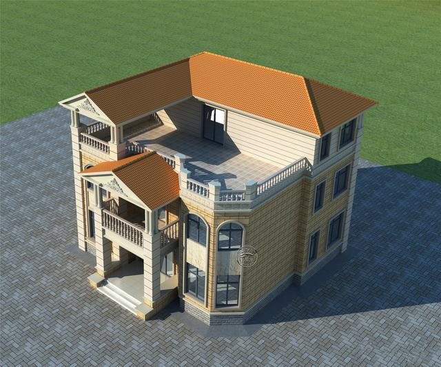 欧式屋顶造型图片大全