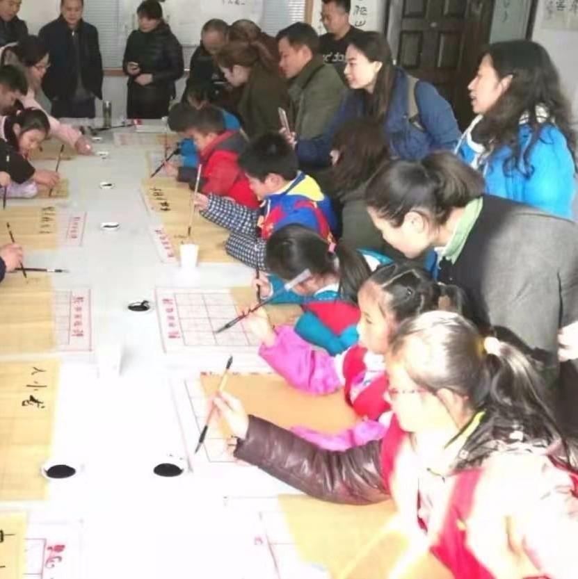 【活动发布】书法家.教小记者书法笔墨创作*家长品茶学习茶文化,并赠作品与茶礼一份