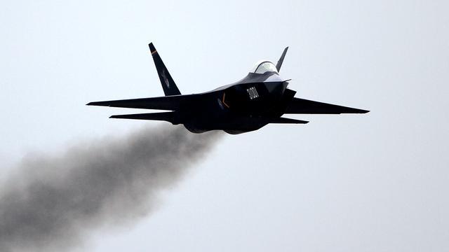"""可能上003型航母的""""FC-31""""鹘鹰,我第五代单座双发隐形战斗机"""